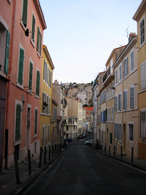 Marseille, France, Street