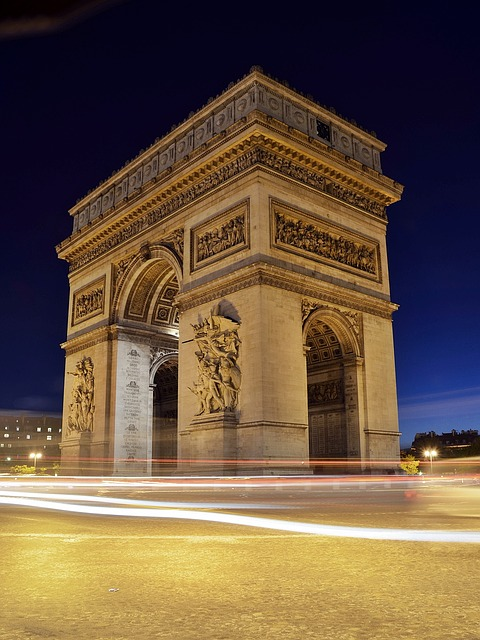 Paris, France, Arc du Triomphe