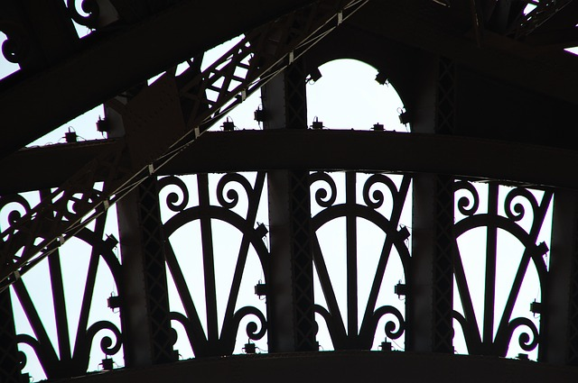 Tour Eiffel, Paris, France, Close Up