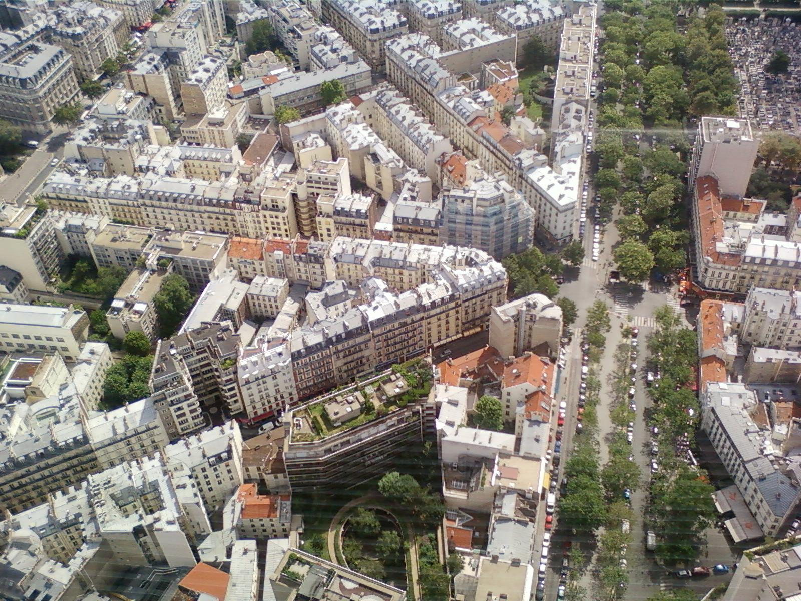 Paris, France, Vue depuis la tour montparnasse