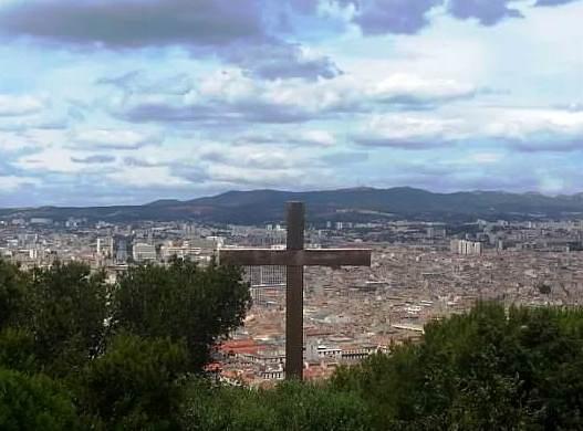 Marseille View from ND De la Garde, France