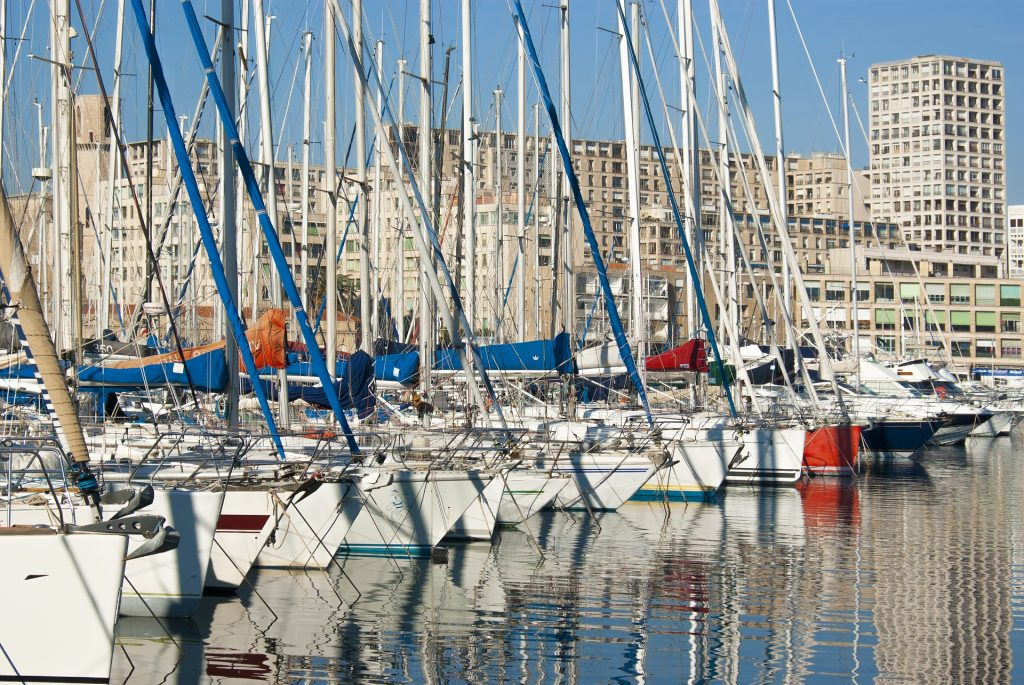 Marseille, France, Harbor