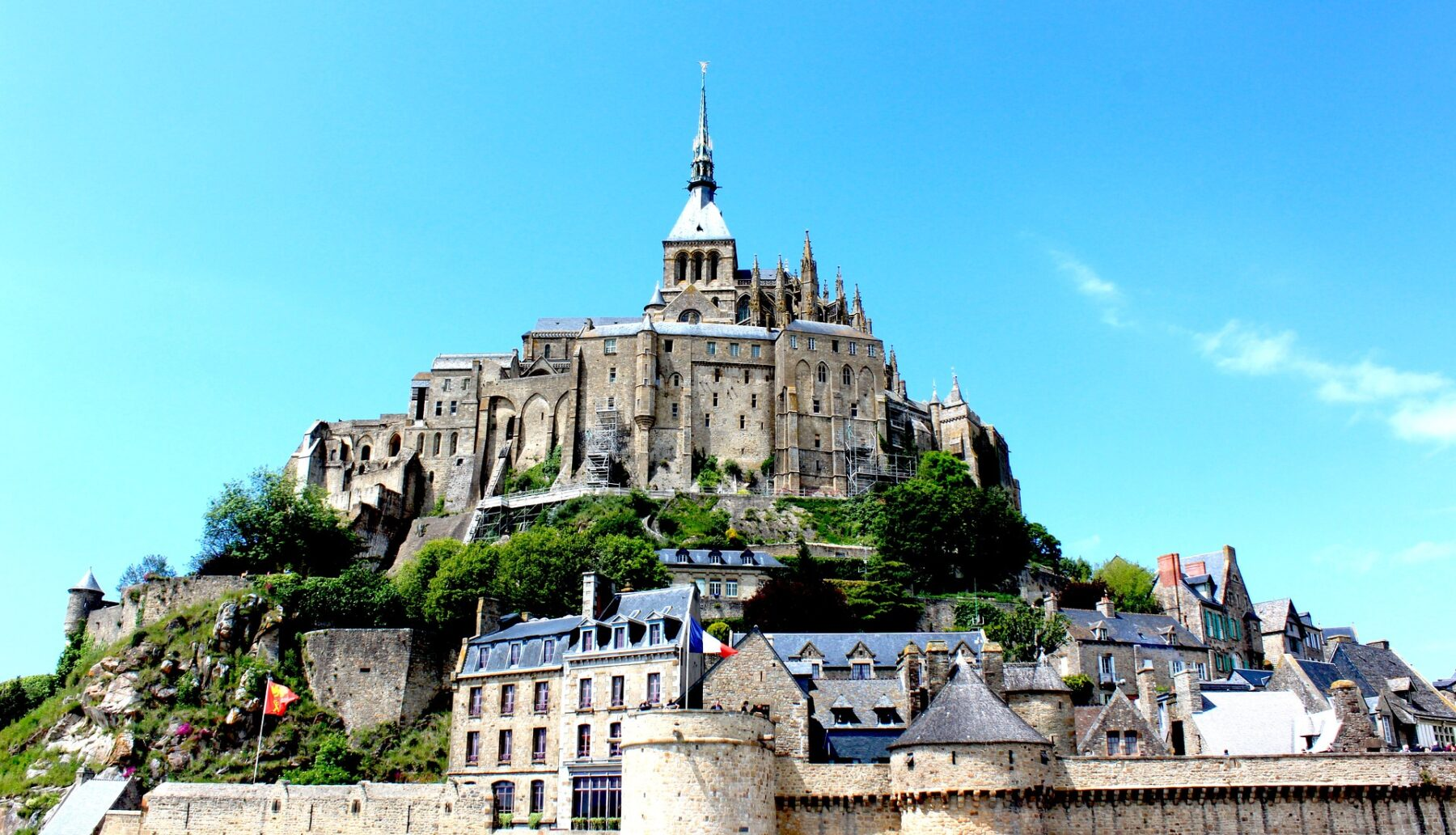 Mont Saint-Michel Normandy, France