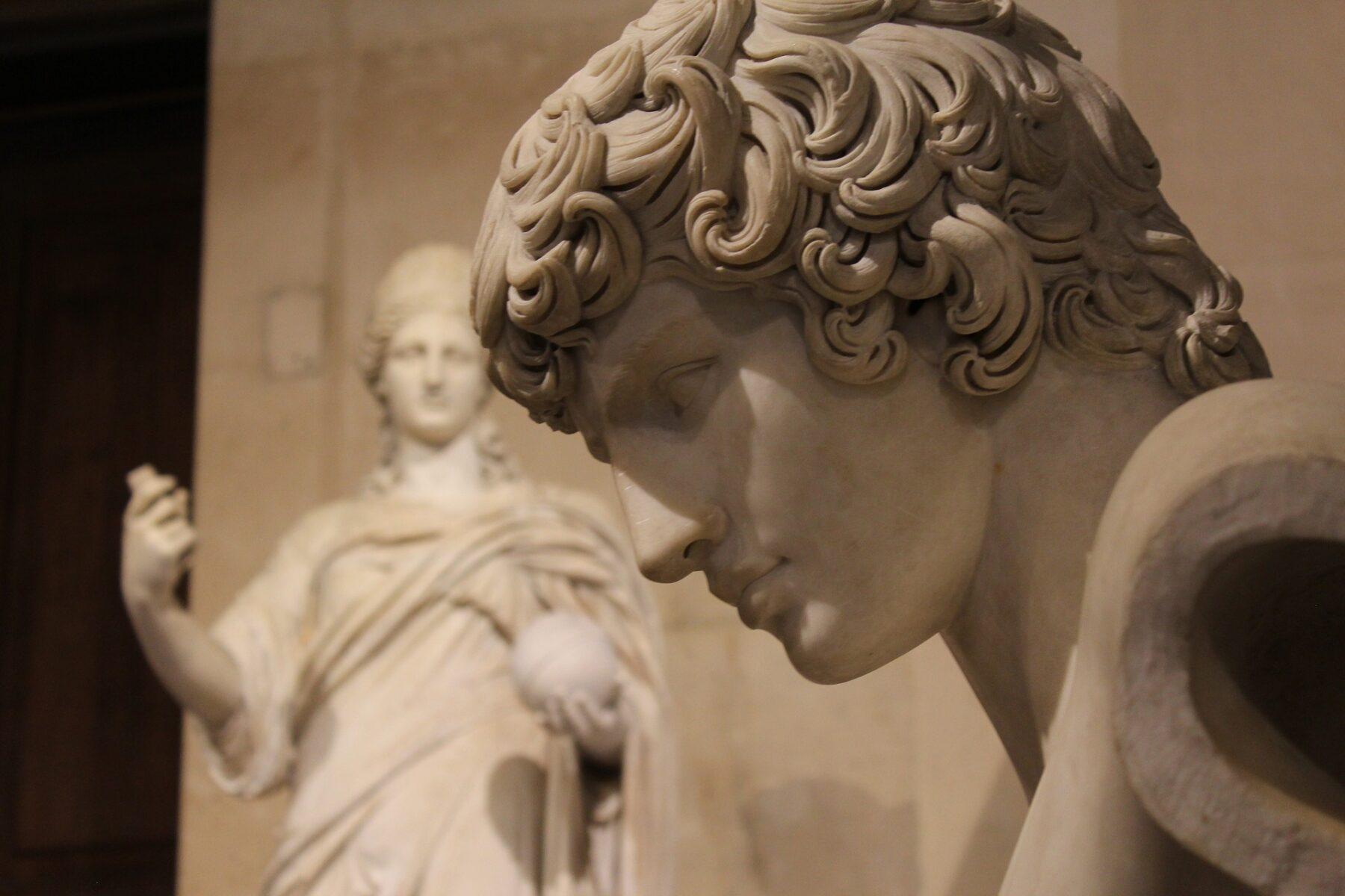 Louvre Sculpture Michelangelo Paris France