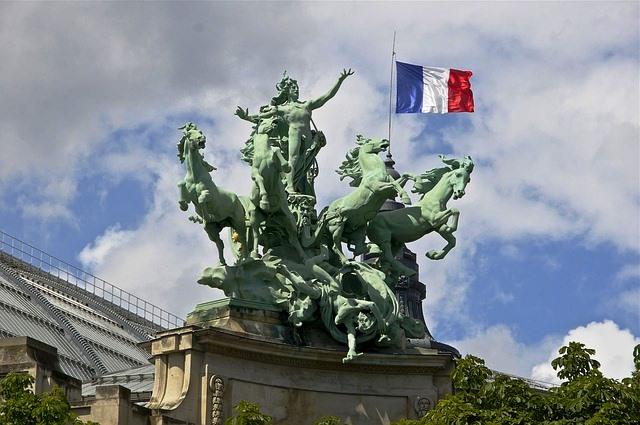 Paris France Statue