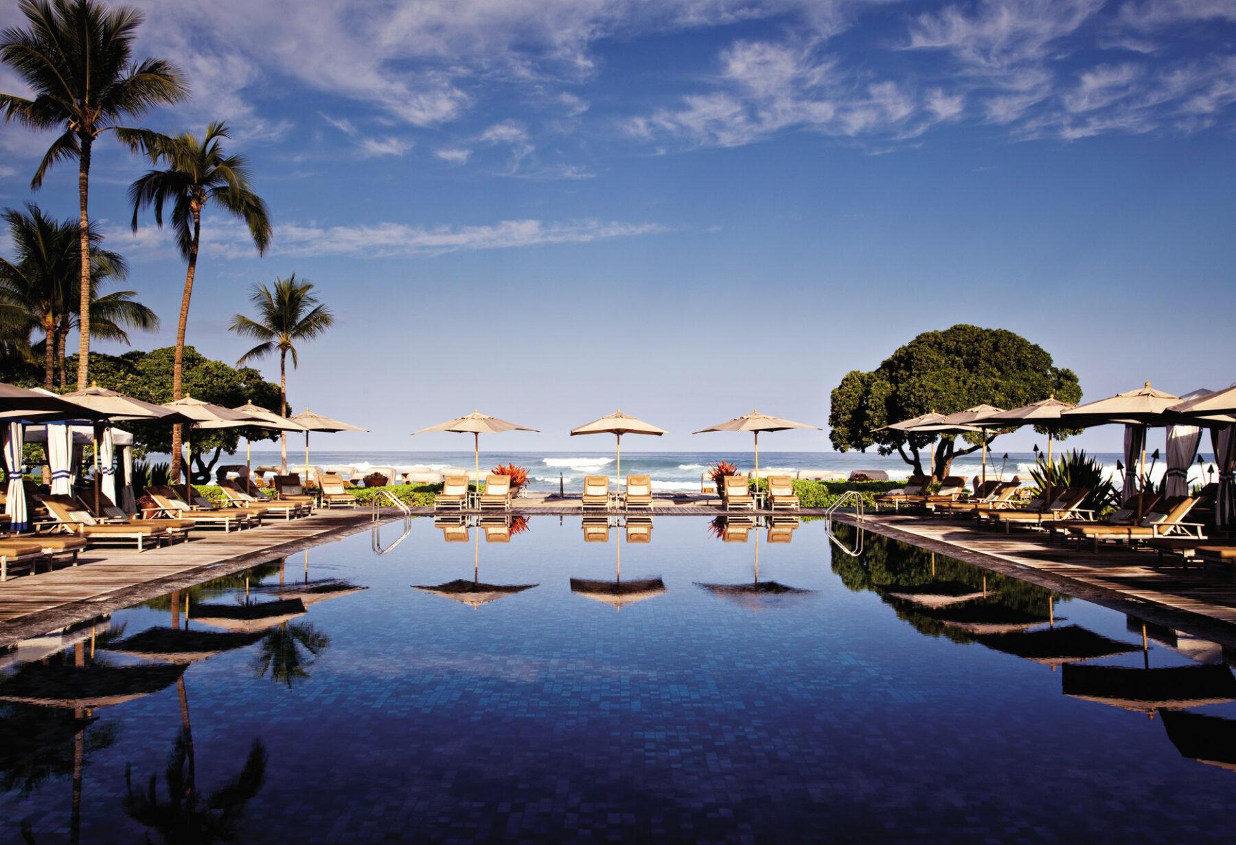 FS Hualalai Pool Hawaii Island