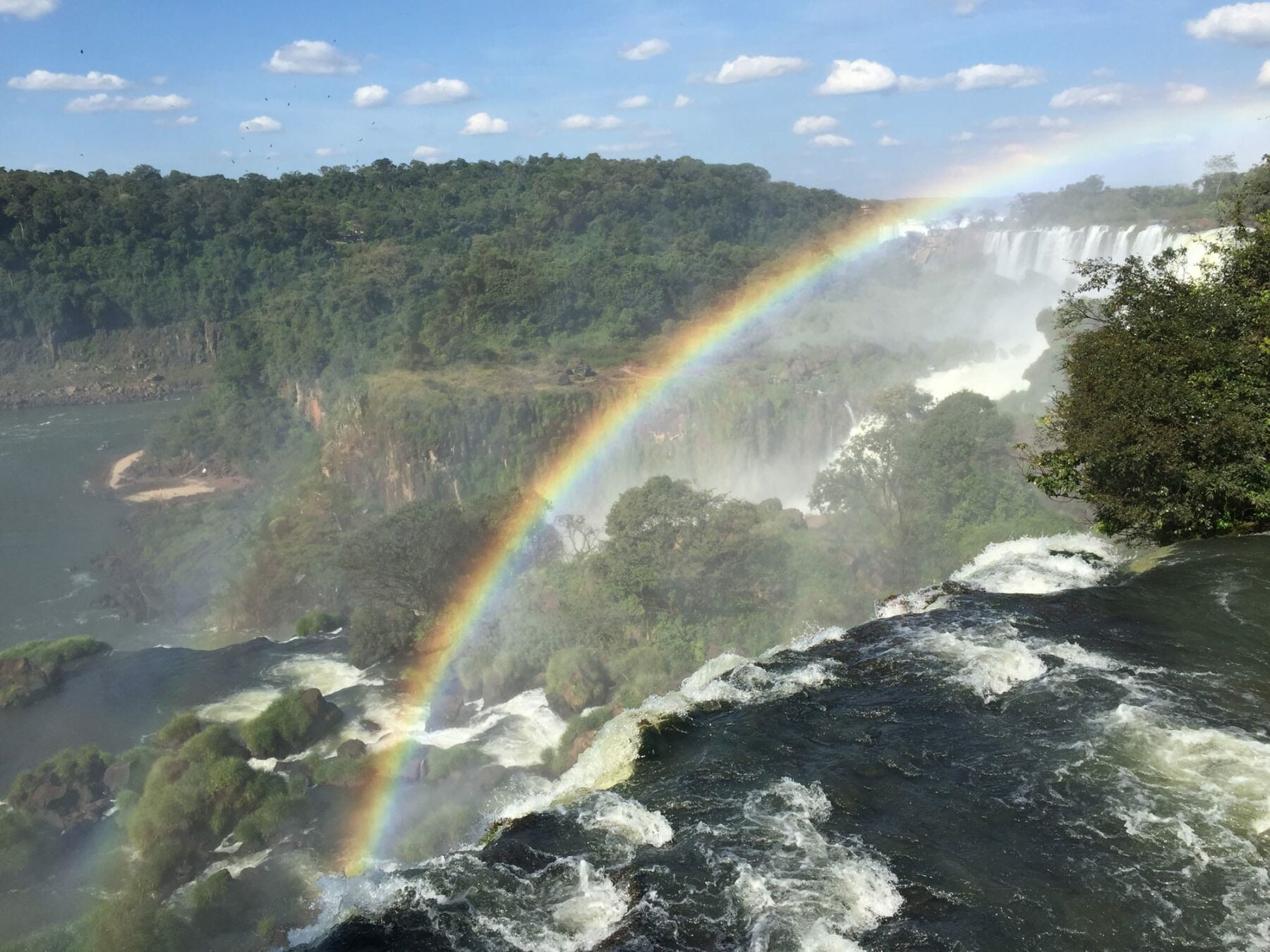 argentina igazu falls rainbow